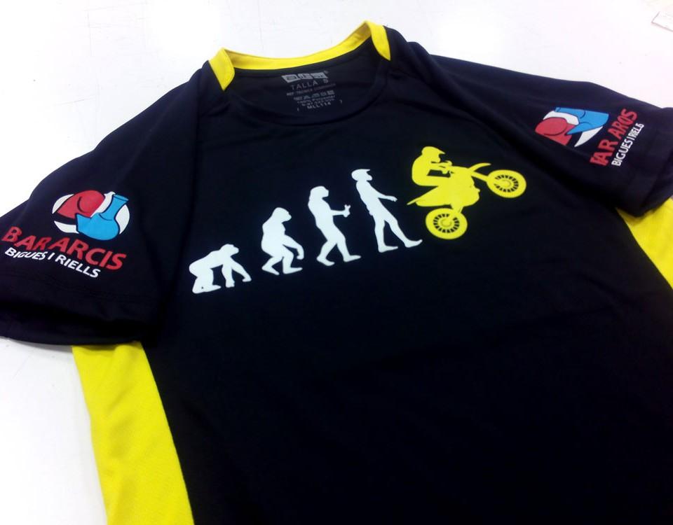 Camisetas técnicas personalizadas Barcelona