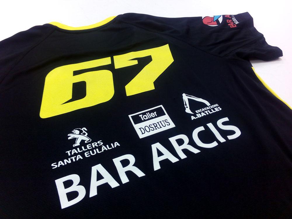 Camiseta técnica para Marcel Identia