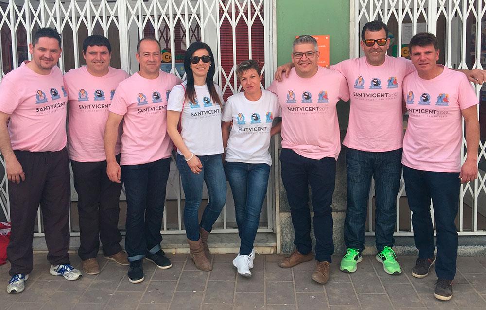 Camisetas para los Festeros de San Vicente