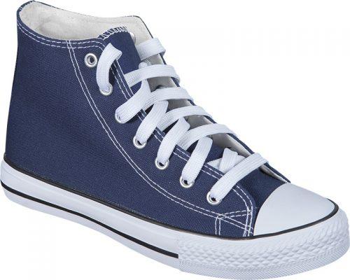 zapatillas personalizadas azul marino