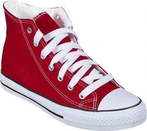 zapatillas personalizadas rojas