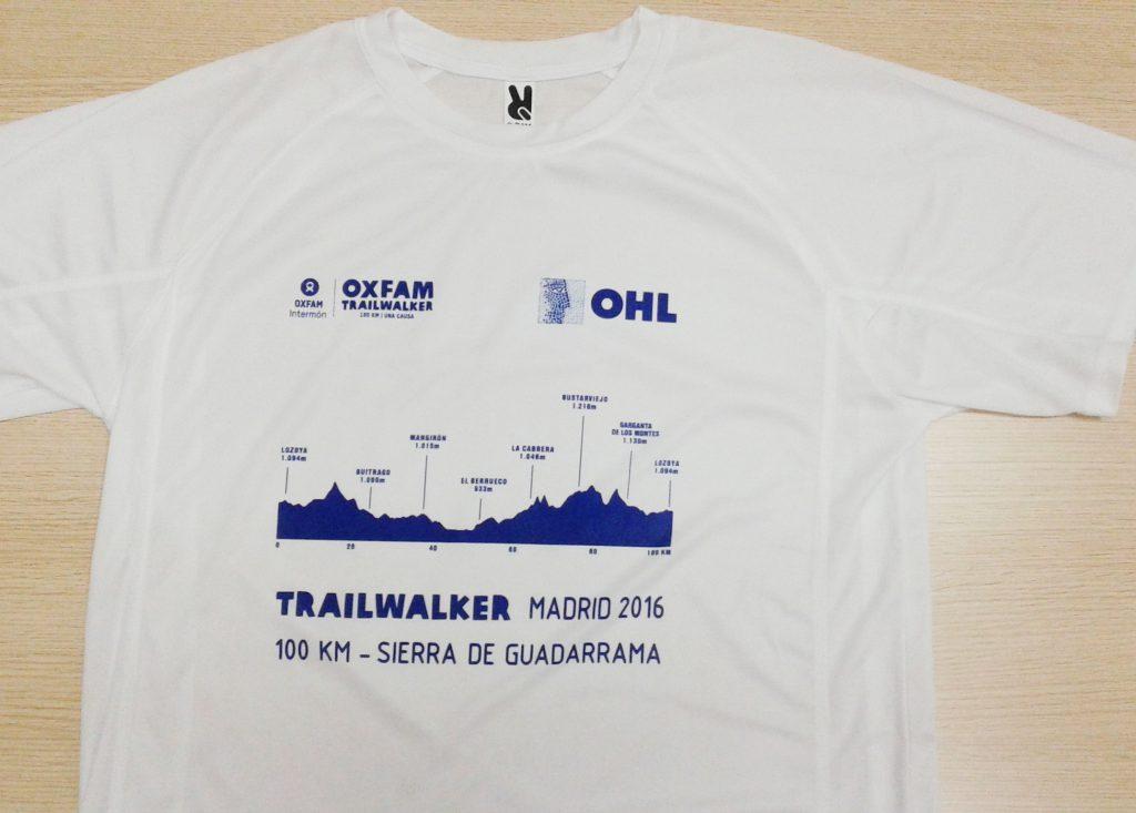 Camisetas técnicas serigrafiadas para OHL