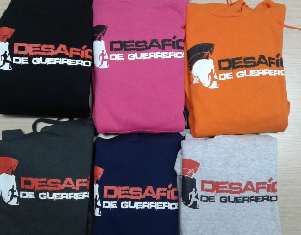 Desafío de guerreros-sudaderas y camisetas personalizadas