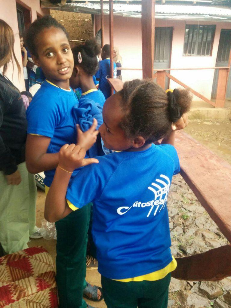 Camisetas solidarias Ethiopia