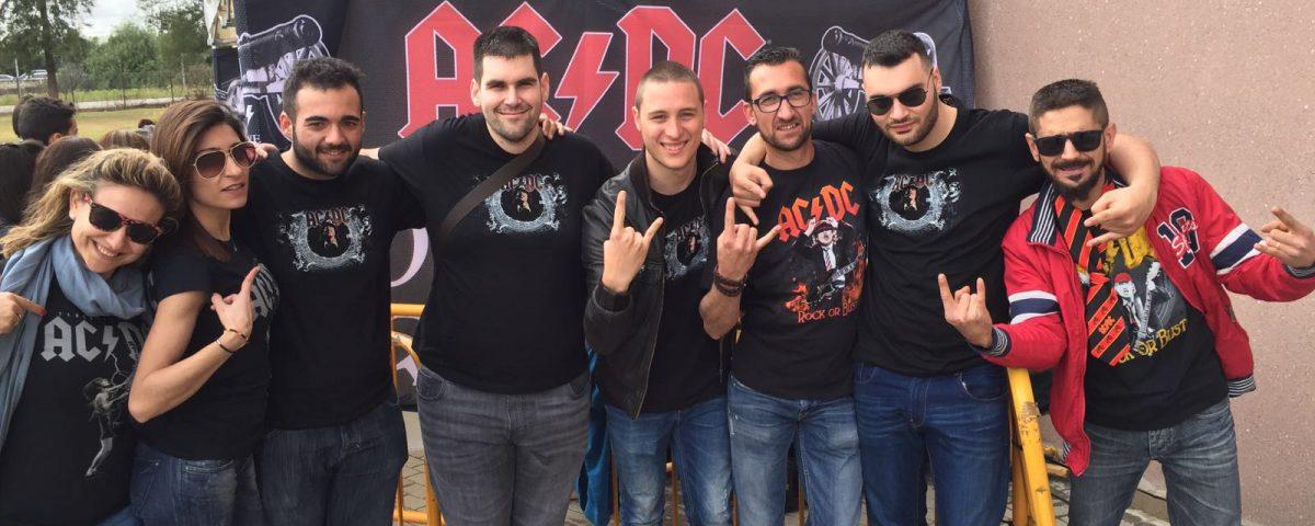 camisetas personalizadasACDC