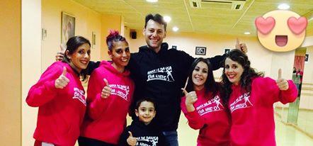 Sudaderas personalizadas para Escola de Dansa Eva Nieto
