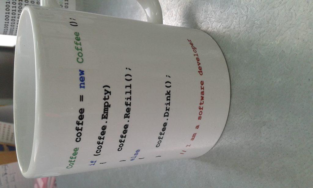 Tazas personalizadas informacticos