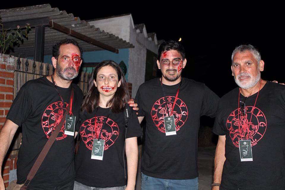 Camisetas para noche del terror