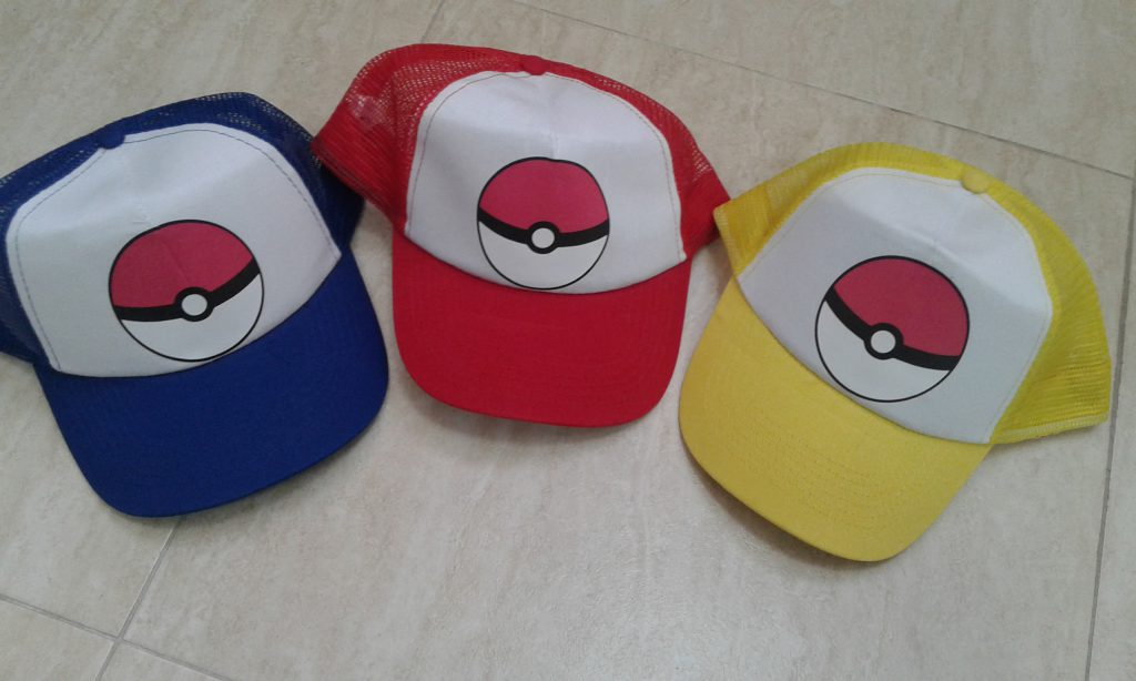 gorras pokemon