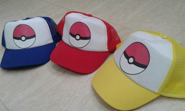 gorras personalizadas baratas pokemon