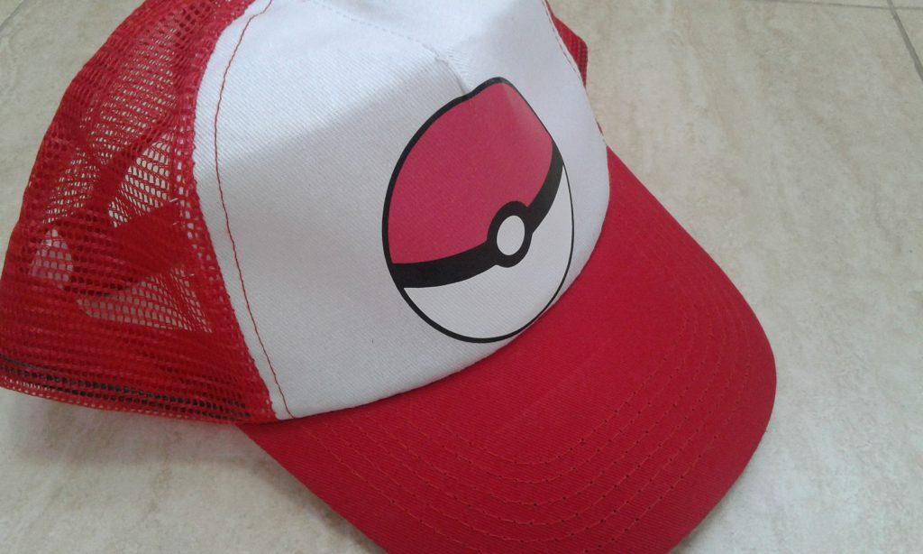 Gorras personalizadas pokemon go