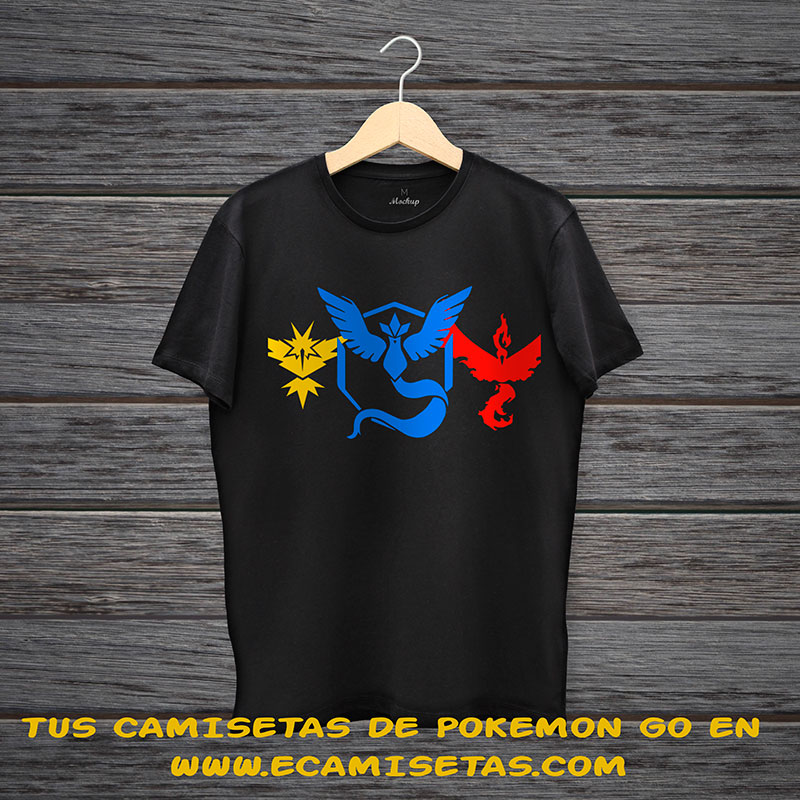 camisetas pokemon go