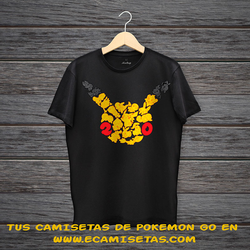 camisetas pokemon