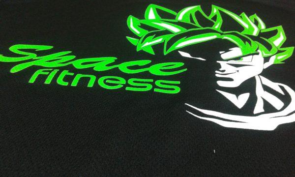 camiseta space fitness goku