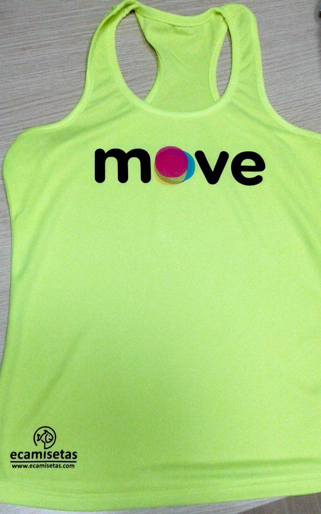 Camisetas flúor personalizadas
