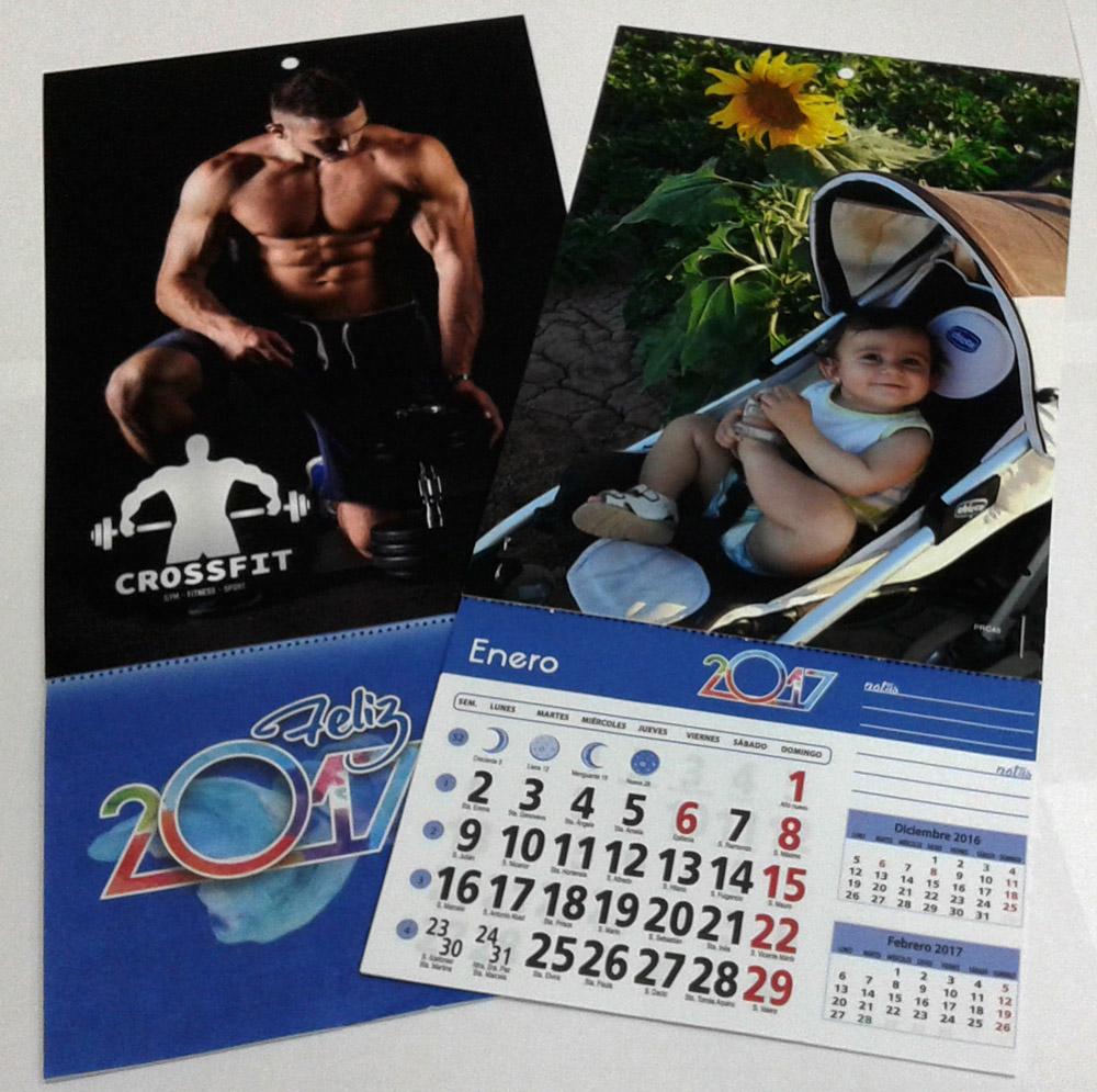 calendarios con iman personalizados