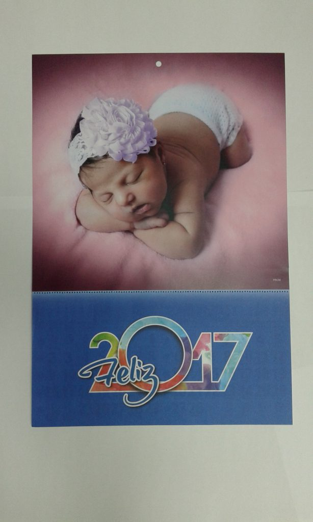 calendarios bebe personalizados
