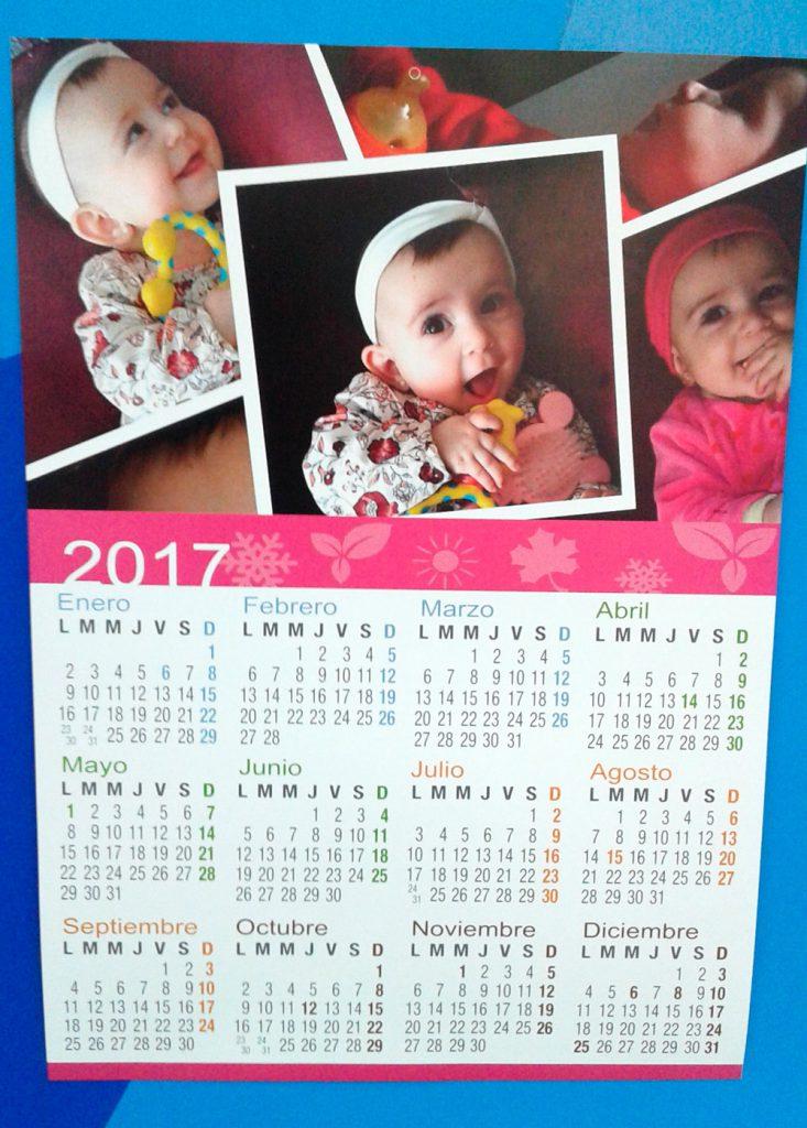 calendarios con foto personalizados
