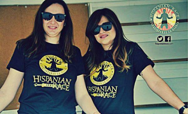 camisetas mujer hispanian race