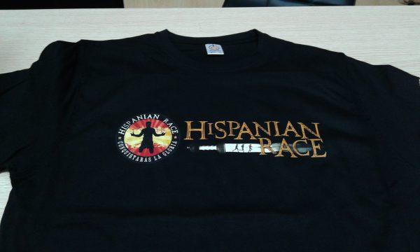 hispanian race serigrafia digital