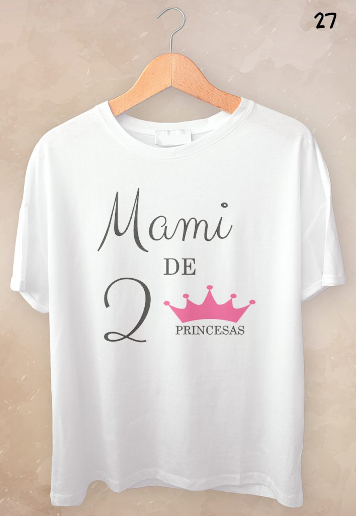 camisetas personalizadas dia de la madre