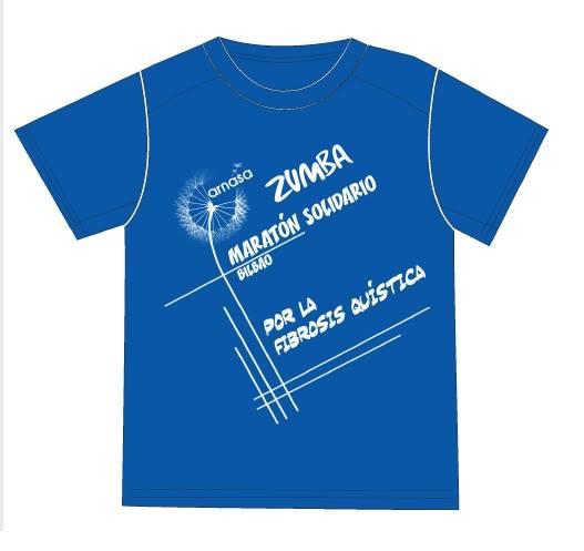 Camisetas personalizadas para zumba