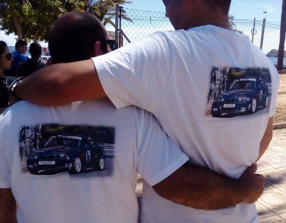Camisetas personalizadas temporada rallyes