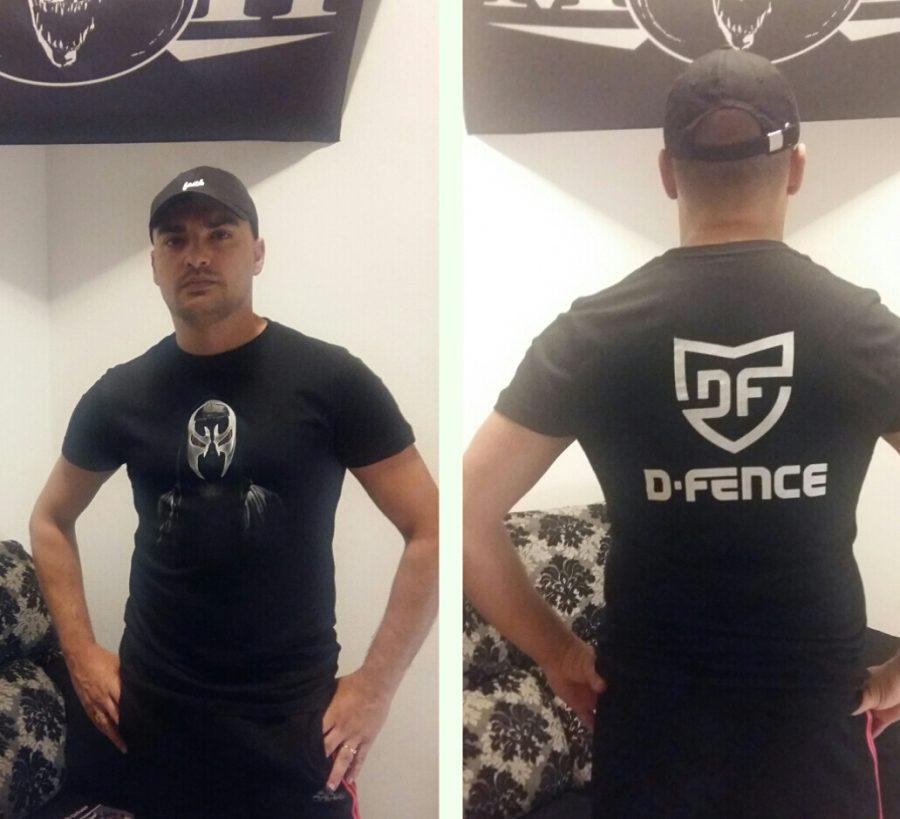 camisetas d-fence