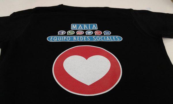 Camisetas para el equipo de redes sociales de la UNIR