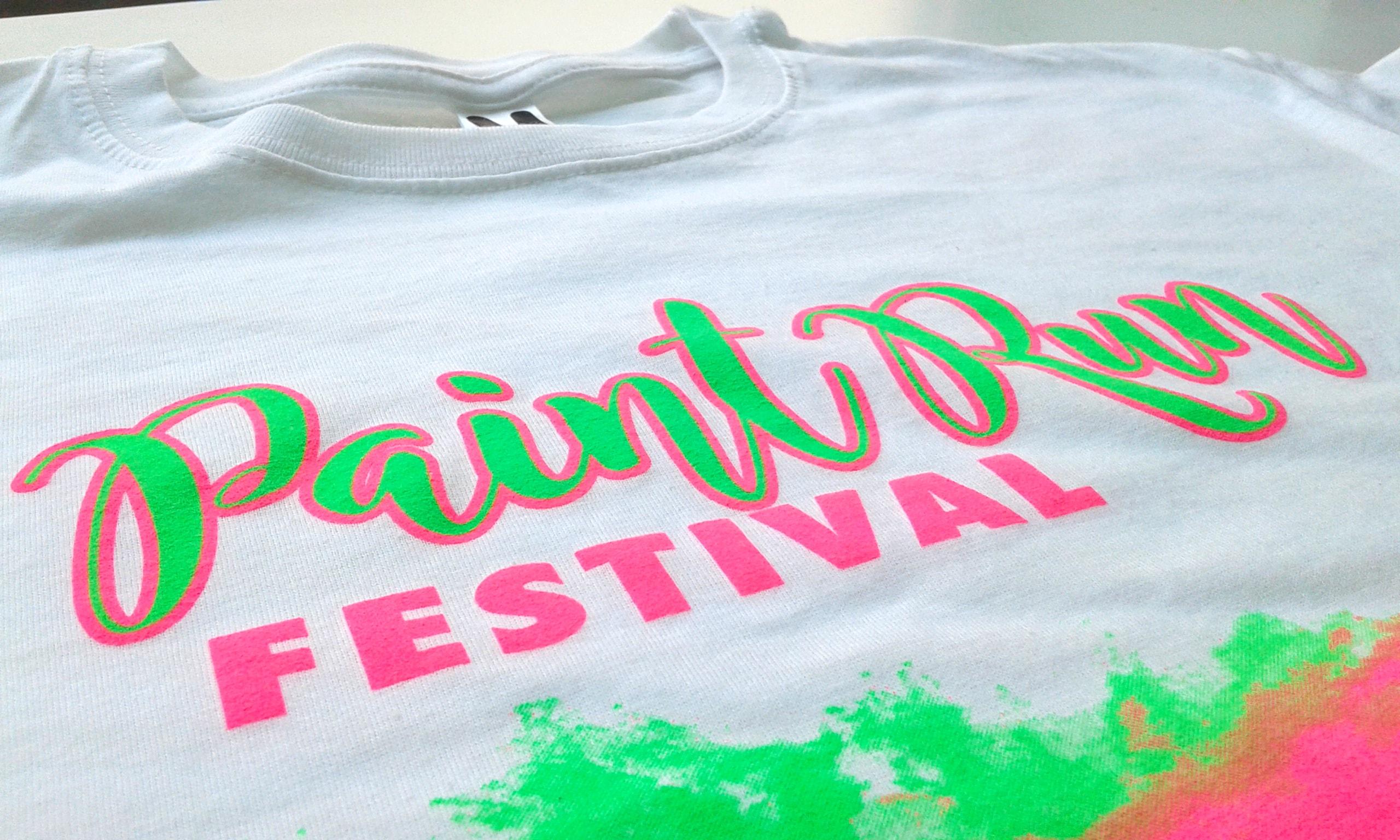 Paint Run Festival camiseta