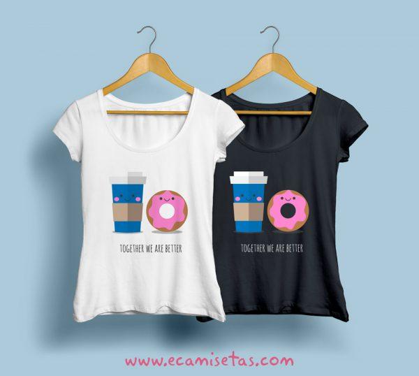 diseños camisetas amigas