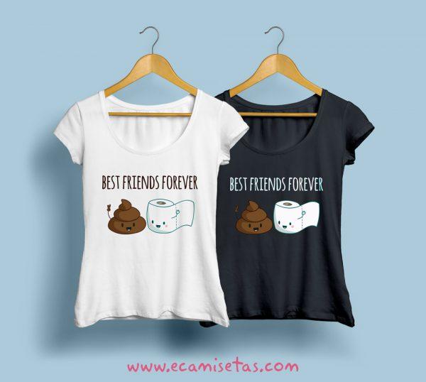 camisetas de mejores amigas baratas