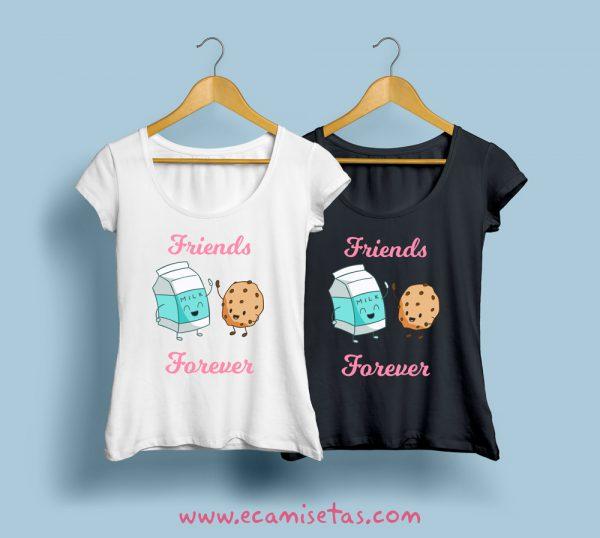 camisetas para amigas inseparables