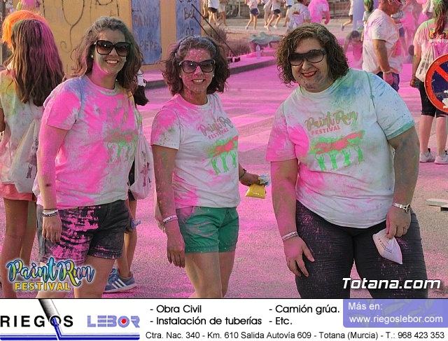 Camisetas colores Paint Run Festival Totana