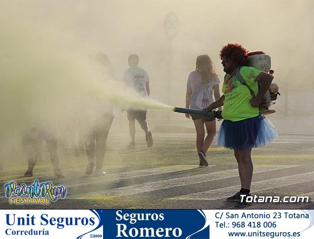 Paint Run Festival Totana Murcia