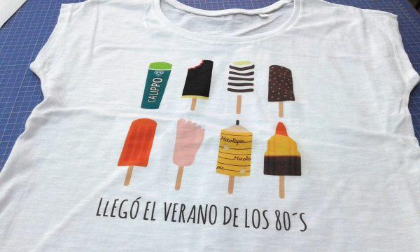 Camisetas veraniegas personalizadas