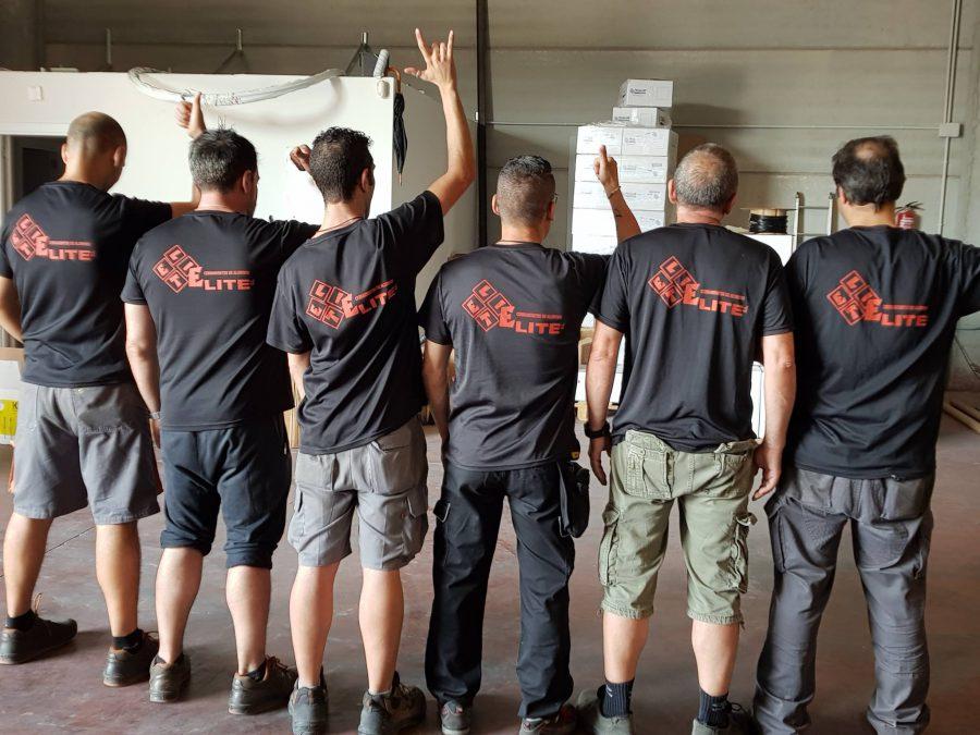 camisetas tecnicas personalizadas para aluminios elite