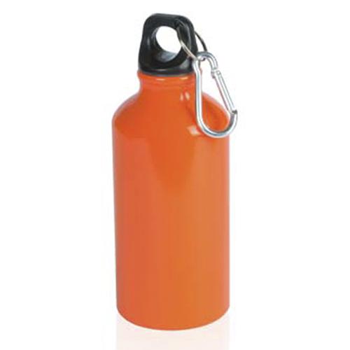 bidon naranja de aluminio