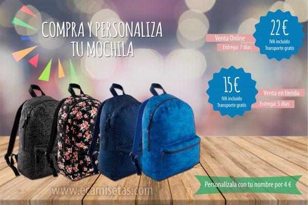 mochilas escolares baratas personalizadas