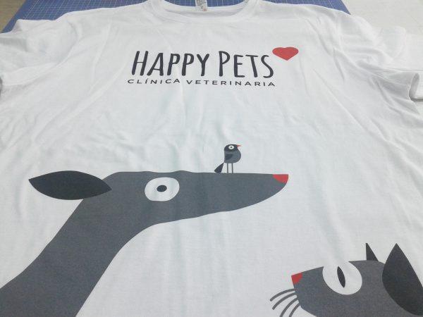 camisetas personalizadas Vets Happy Pets