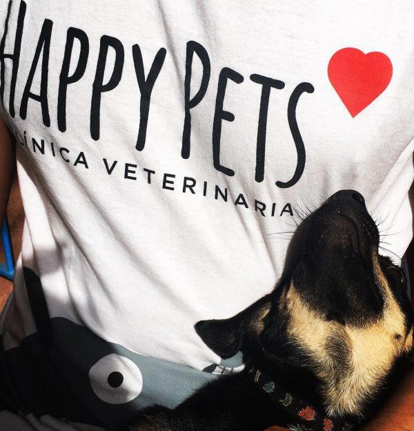 Camisetas personalizadas para veterinaria Vets Happy Pets