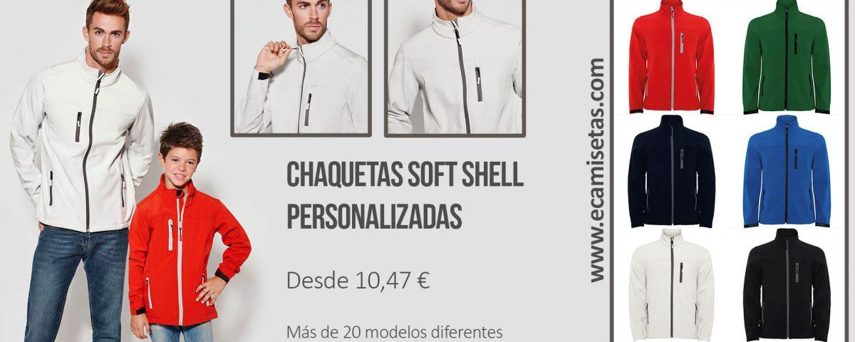 chaquetas softshell baratas personalizadas