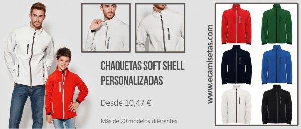 chaquetas softshell personalizadas