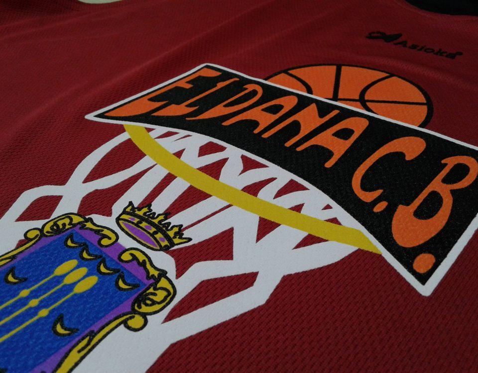 camiseta basket personalizada