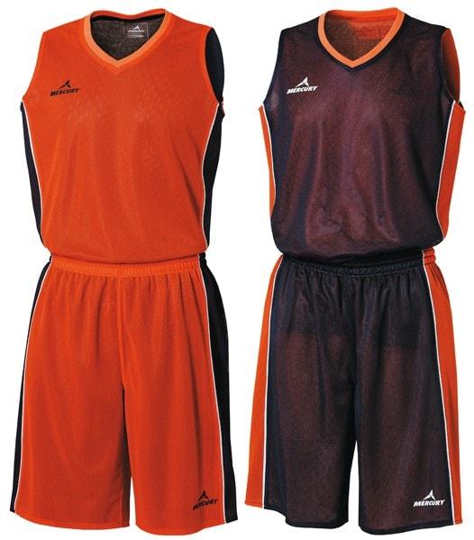 Equipaciones baloncesto basket reversible
