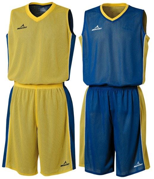equipaciones baloncesto reversibles personalizados