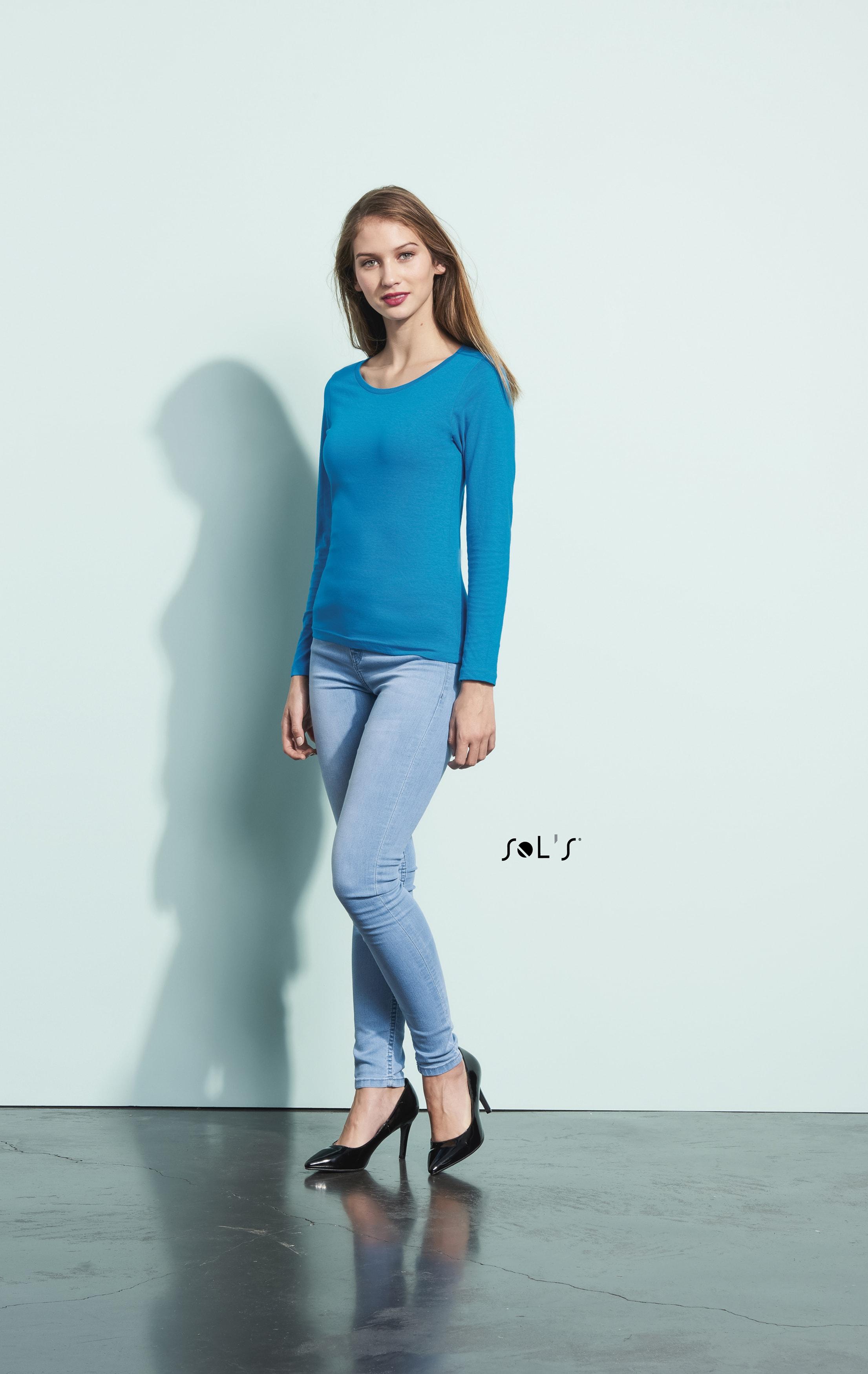 camisetas manga larga mujer