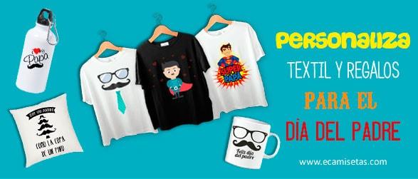 Camisetas para e´día del padre