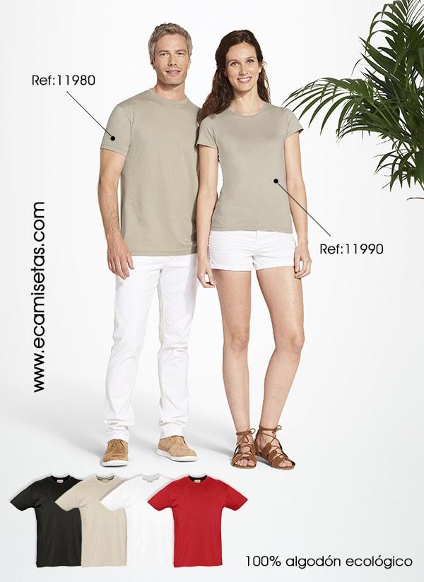 camisetas algodon ecologico