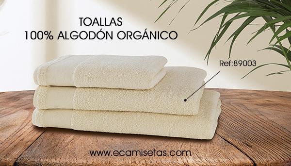 toallas algodon organico